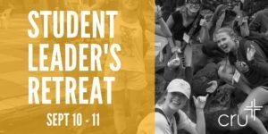 Student Leader's Retreat (1)